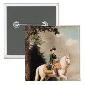 Equestrian Portrait of Catherine II Pins