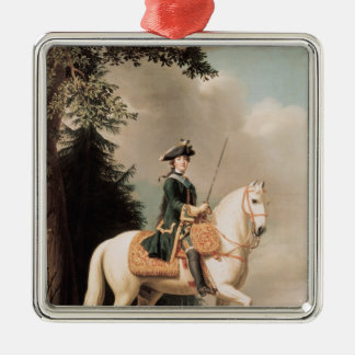 Equestrian Portrait of Catherine II Christmas Ornament