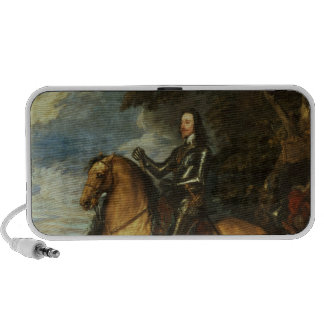 Equestrian Portrait of Charles I  c.1637-38 Notebook Speakers