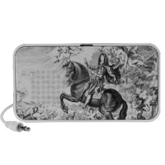 Equestrian Portrait of Charles II  with Gods Notebook Speakers