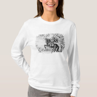 Equestrian Portrait of Charles II  with Gods T-Shirt