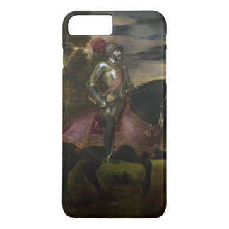 Equestrian Portrait of Charles V by Titian iPhone 7 Plus Case