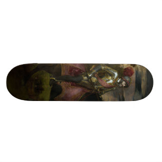 Equestrian Portrait of Charles V by Titian Skateboards