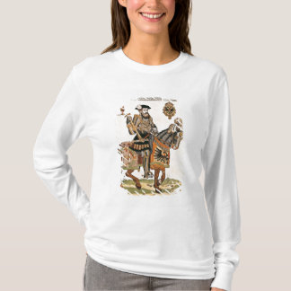 Equestrian portrait of Charles V in armour T-Shirt