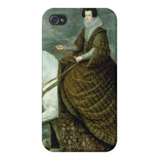 Equestrian portrait of Elisabeth de France iPhone 4 Case