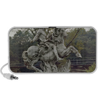 Equestrian Portrait of Louis XIV 2 iPhone Speaker