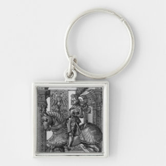 Equestrian portrait of Maximilian I  c.1508 Key Ring