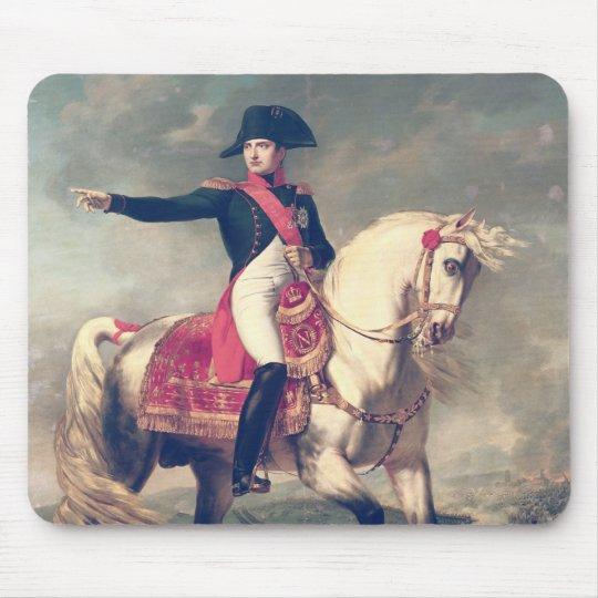 Equestrian Portrait of Napoleon I  1810 Mouse Mat