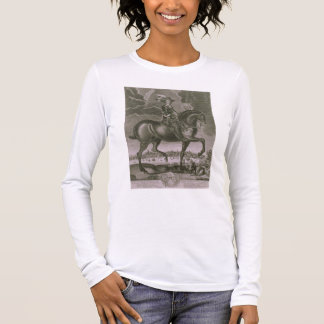 Equestrian Portrait of Oliver Cromwell (1599-1658) Long Sleeve T-Shirt