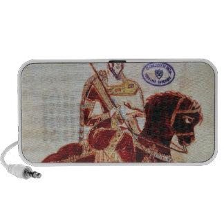 Equestrian portrait of Pepin  King of Italy Travel Speaker