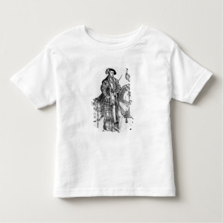 Equestrian Portrait of Philip II  of Spain Toddler T-Shirt