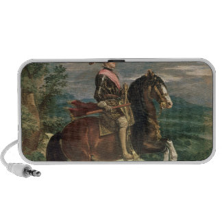 Equestrian Portrait of Philip IV  c.1636 iPhone Speaker