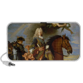 Equestrian Portrait of Philip V Laptop Speakers