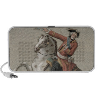 Equestrian portrait of Prince Charles Travelling Speakers