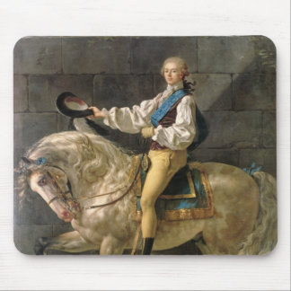 Equestrian Portrait of Stanislas Kostka Mouse Pad