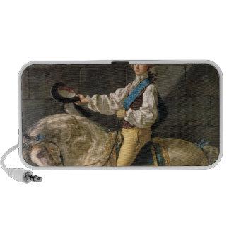 Equestrian Portrait of Stanislas Kostka Portable Speakers
