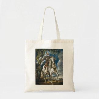 Equestrian Portrait of the Duke of Lerma Rubens Tote Bag