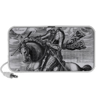 Equestrian portrait iPhone speaker