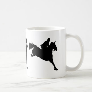 Equestrian Show Jumping riders gift ideas Basic White Mug