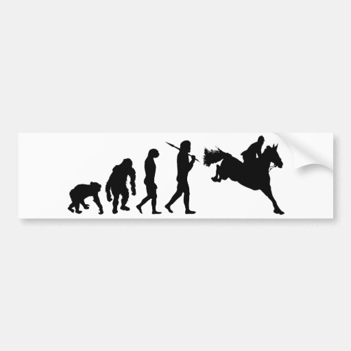 Equestrian Show Jumping riders gift ideas Bumper Stickers