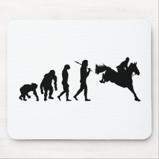 Equestrian Show Jumping riders gift ideas Mouse Mat