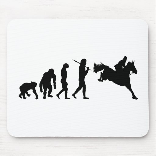 Equestrian Show Jumping riders gift ideas Mousepads
