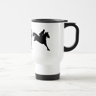 Equestrian Show Jumping riders gift ideas Stainless Steel Travel Mug