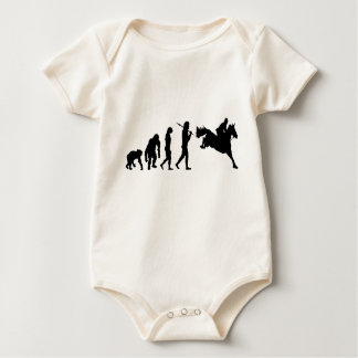 Equestrian Show Jumping riders gift ideas Baby Bodysuits