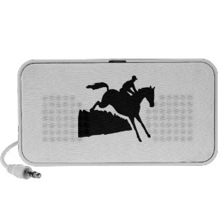 Equestrian Silhouette iPod Speakers