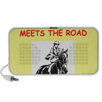 equestrian mini speaker