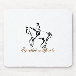 Equestrian Sports Mouse Pad