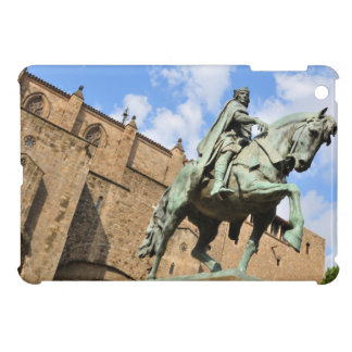 Equestrian statue in Barcelona, Spain iPad Mini Case