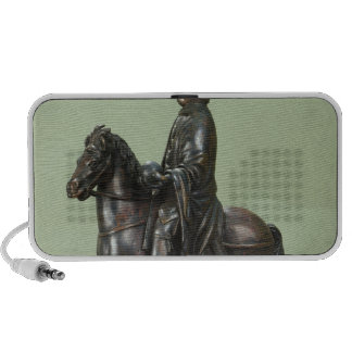 Equestrian statue of Charlemagne 2 iPod Speaker