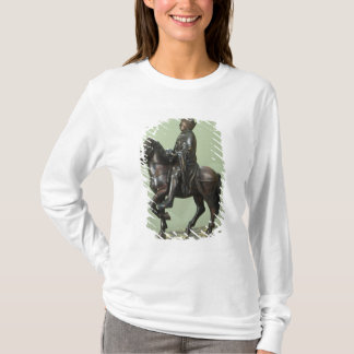 Equestrian statue of Charlemagne 2 T-Shirt