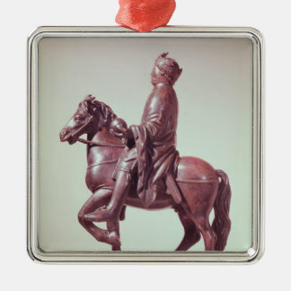 Equestrian statue of Charlemagne Christmas Ornament