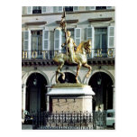 Equestrian statue of Joan of Arc Post Card