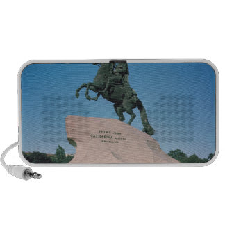 Equestrian statue of Peter I  the Great, 1782 iPod Speaker