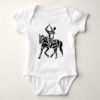 Equestrian Vaulter Baby Bodysuit