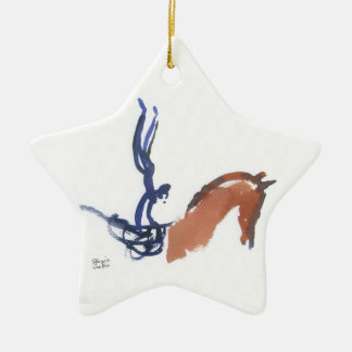 Equestrian Vaulters Christmas Ornament