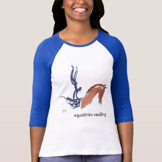 Equestrian Vaulting T Shirt
