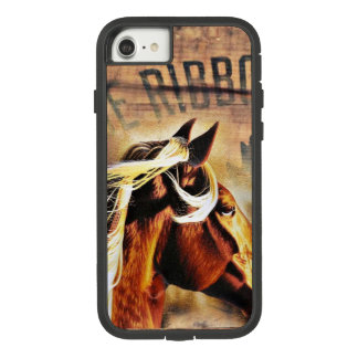 equestrian western country barn wood horse Case-Mate tough extreme iPhone 8/7 case