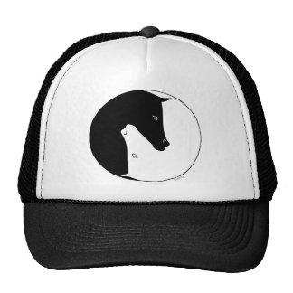 Equestrian Ying Yang Trucker Hats