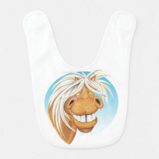 Equi-toons 'Cheeky Chappie' horse companion bib. Bib