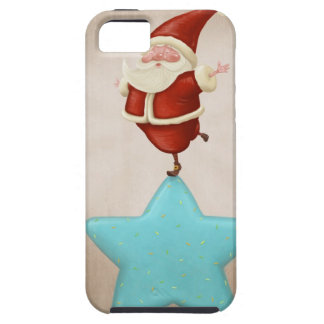 Equilibrist Santa Claus Case For The iPhone 5