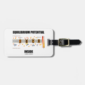 Equilibrium Potential Inside Active Transport Luggage Tag