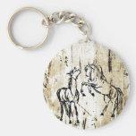 Equine Art Keychains