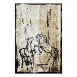 Equine Art Poster