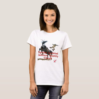 Equine Assisted Gravity Check T-Shirt
