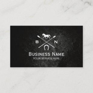 Equestrian business cards business card printing zazzle uk equine elegant horseback riding equestrian business card reheart Gallery