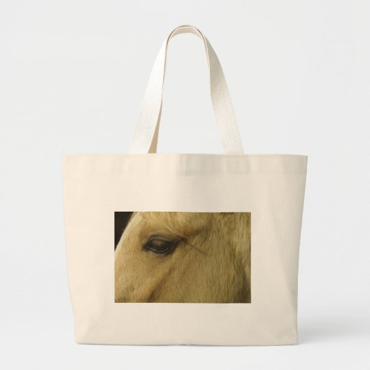 Equine Eye Large Tote Bag